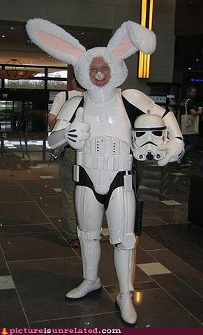 mash up nightmare fuel stormtrooper wabbit wtf - 4395970816