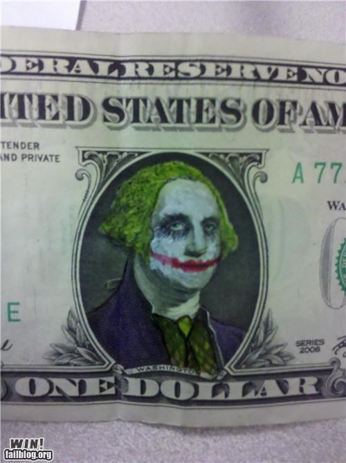 batman,money currency,poll,the joker