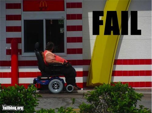 classic drive thru failboat food g rated McDonald's scooter - 4396023040