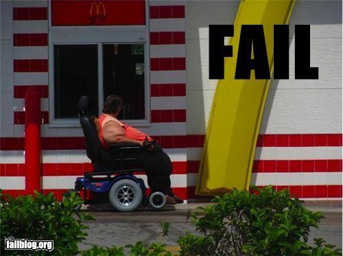 classic drive thru failboat food g rated McDonald's scooter - 4396023040