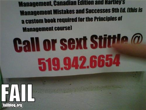 failboat,innuendo,mobile phones,oh canada,sexting,signs