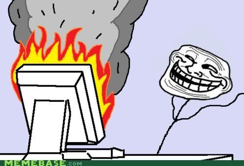 fight flamewar mission accomplished success troll troll face - 4396933888