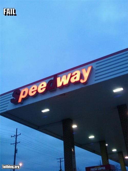 bathroom failboat gas station g rated Lights Out missing letters urine - 4398102272