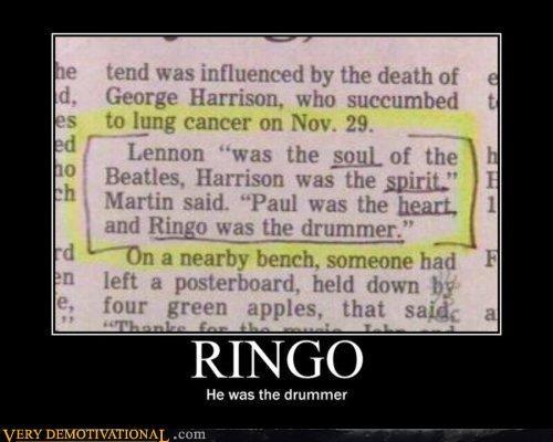 beatles drummer Ringo sad face - 4398355712