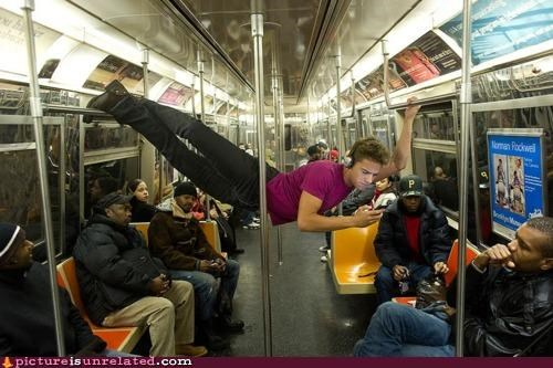 public transit Subway super powers train wtf - 4398559488