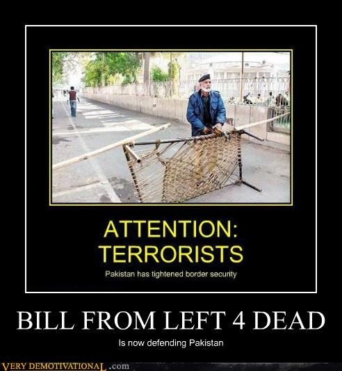 bill,left for dead,Pakistan,video games