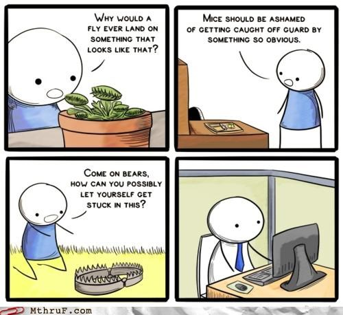 comic,cubicle,depressed,trap