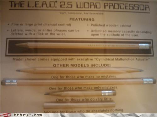eraser mistake pencil word processor - 4399254016