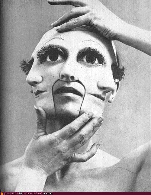 creepy face mask nightmare wtf - 4399621888