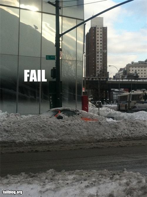 car,failboat,g rated,parking,porche,snow