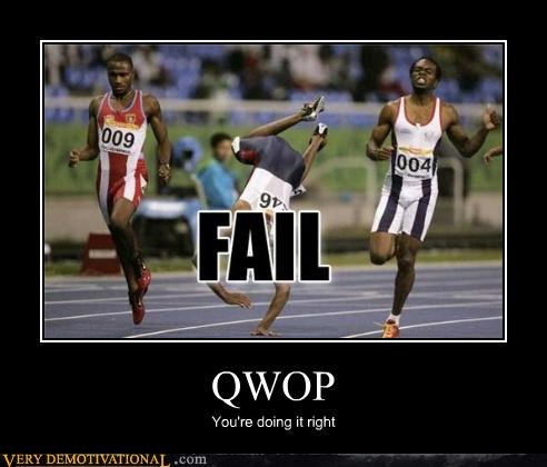QWOP You're doing it right
