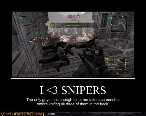 back stab call of duty screenshot snipers