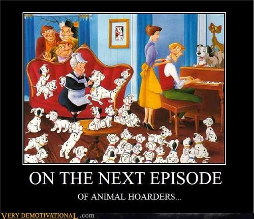 101 dalmatians animal hoarders Movie - 4400157440