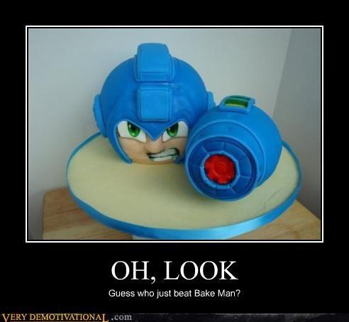 bakeman cake delicious mega man - 4400359424