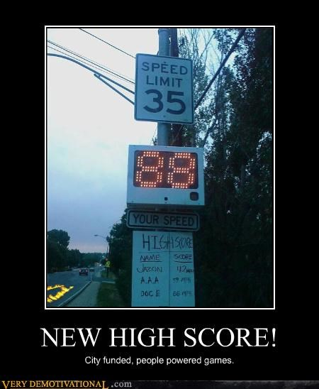 88 back to the future,high score,speed limit