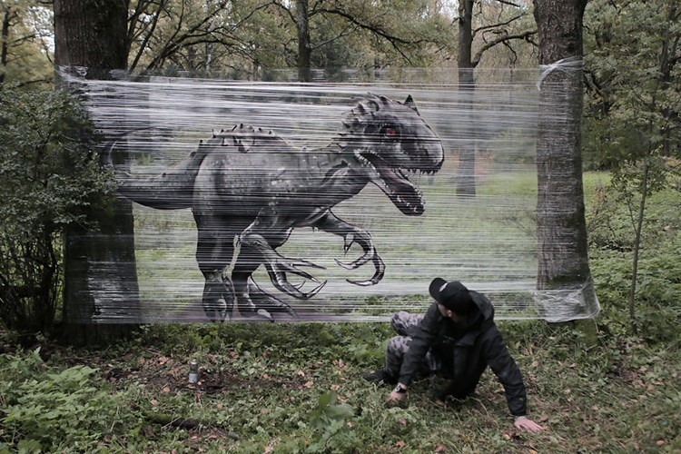 art funny spray paint animals - 4400645