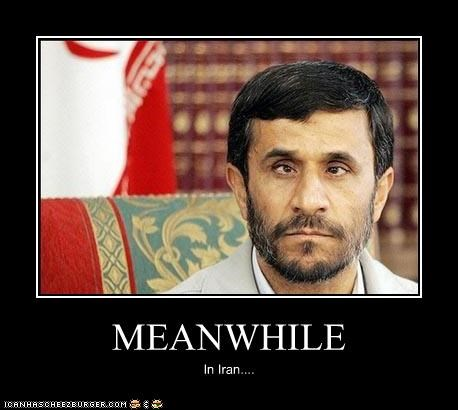 crazy,crazy eyes,crossed eyes,derp,iran,Mahmoud Ahmadinejad