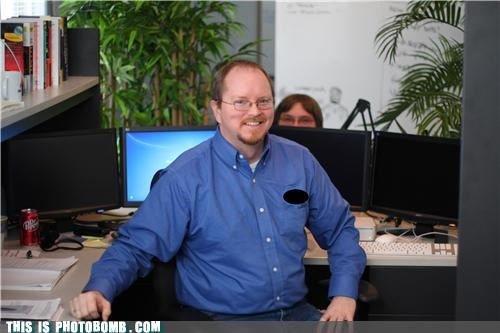creeper home improvement Office photobomb wilson work - 4401171200