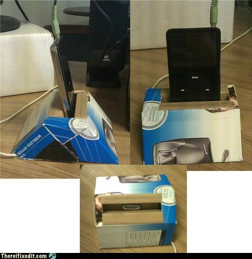 Apple product,cardboard,ipod