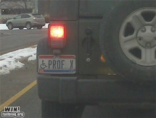 clever license plate nerdgasm x men - 4401555712