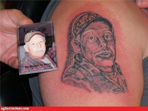 tattoos,Grandpa,funny