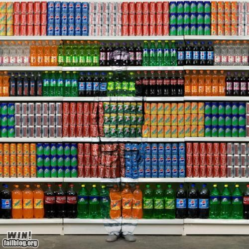 amazing,art,camouflage,grocery store,soda