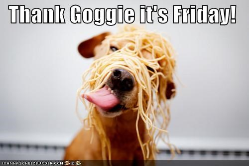 eating mess messy noodles spaghetti thank-goggie-its-friday tongue whatbreed - 4401878272