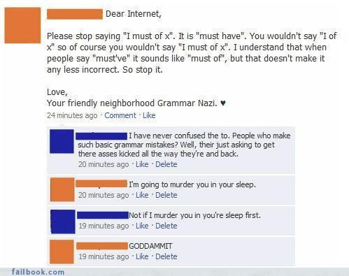 grammar nazi,lol