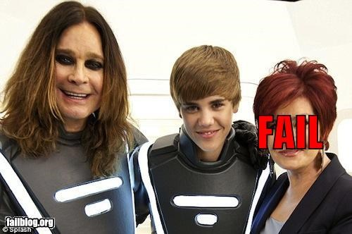 celeb,credibility,failboat,g rated,justin bieber,metal,Music,Ozzy