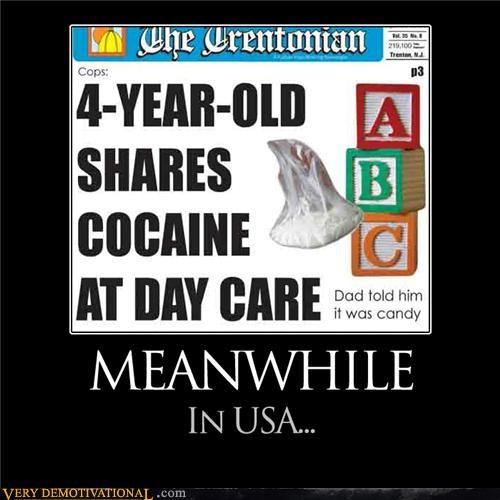bad idea cocain day care kids usa - 4402084352