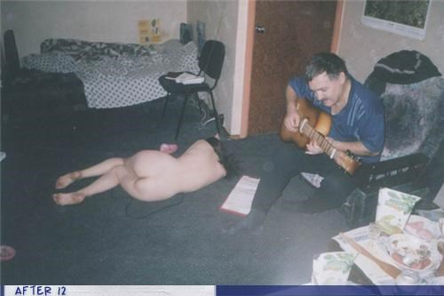 au natural,guitar,passed out,serenade