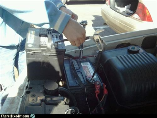 electricity,jump start,jumper cables,shocking