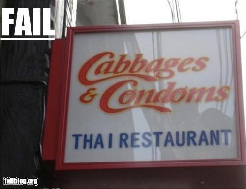 business name condoms failboat food name restaurant - 4402215424