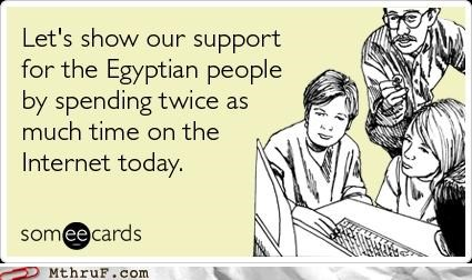 egypt,internet,slacktivism,support,wasting time
