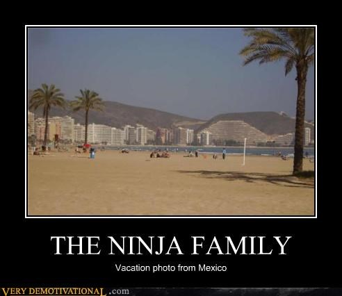invisible,ninja,not there,vacation