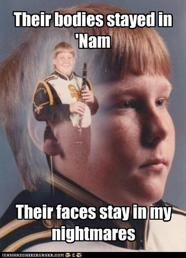 bodies faces nam nightmares PTSD Clarinet Kid - 4402635776