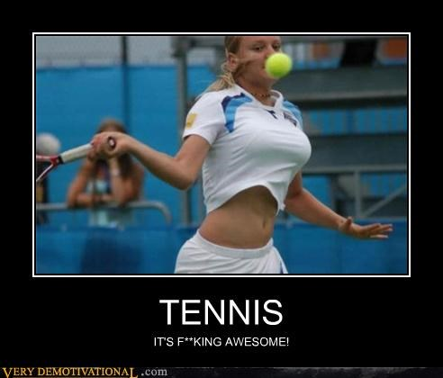 awesome boobies sports tennis - 4402843648