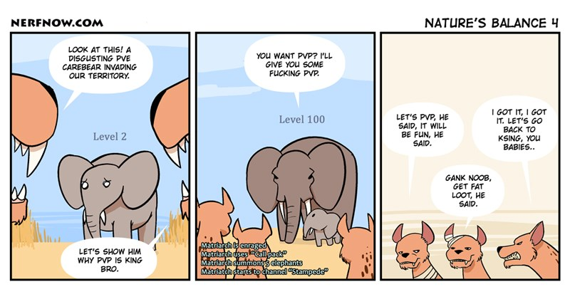 Funny web comics about gaming, nature, evolution, animals.