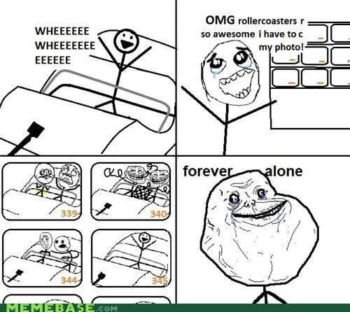 elder memes,forever alone,oldsauce,roller coaster