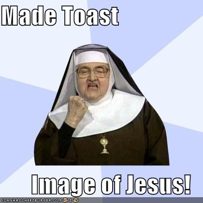 jesus Success Nun toast - 4403076096