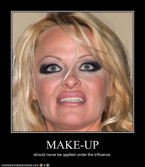 creepy demotivational funny pamela anderson - 4403170304