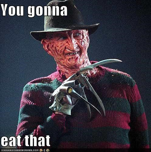creepy,funny,robert englund