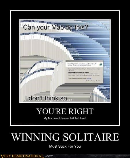 solitaire windows winning mac