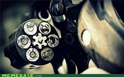 bullets gun meme-party Memes photochop - 4404223488