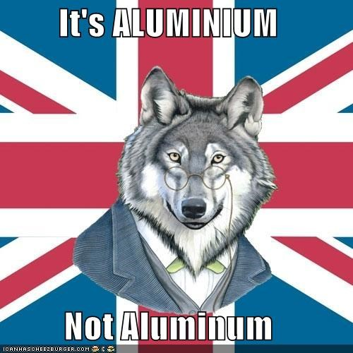 aluminium aluminum sir-courage-wolf-esq