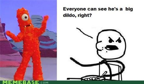 cereal guy dont-dos muno Rage Comics yo gabba gabba - 4404350720