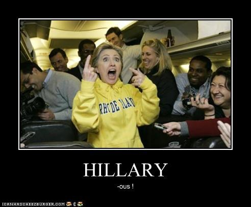 funny Hillary Clinton laughing secretary of state - 4404405504