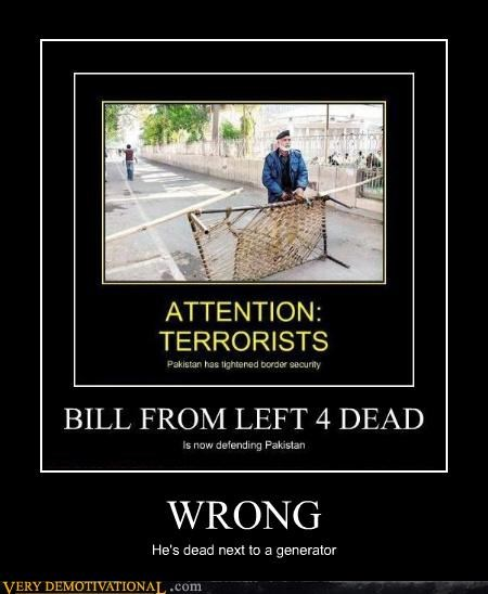 Left 4 Dead wrong bill