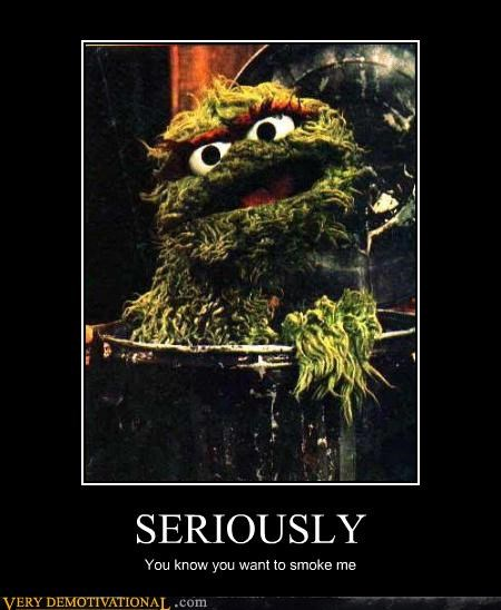 oscar the grouch,seriously,Sesame Street