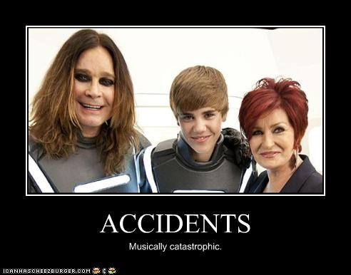 ACCIDENTS Musically catastrophic.